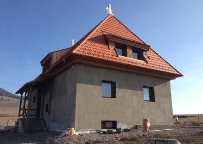 Niedrigenergiehaus in Miercurea Ciuc – Lufdichtheitmessung