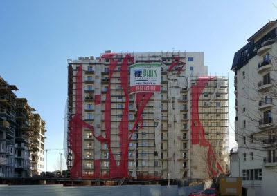 The Park 2 Bukarest – 130 lakásos épület – légtömörség vizsgálata